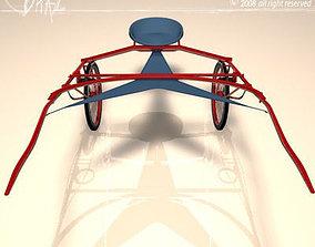 3D model Racing sulky