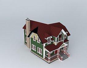 3D model Victorian House