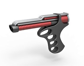3D Pistol from the movie The Black Hole 1979