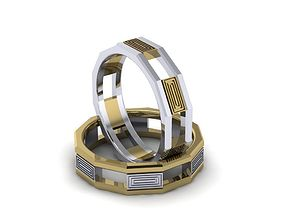 wedding band man 3D printable model