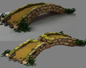 Two bridges Stages of construction 3D model