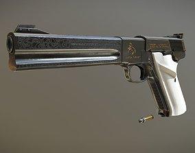 Colt Woodsman Match Target 22LR Pistol 3D model