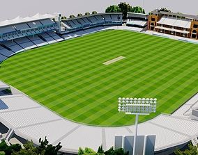 Lords Cricket Ground - London 3D model VR / AR ready