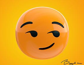 3D model Emoji Smirking