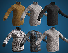 3D model PBR Sweaters collection