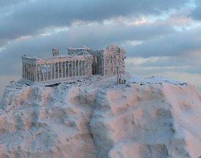 3D Greek Temple picoftheday