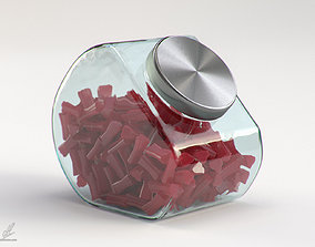 Licorice Jar 3D model