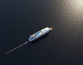 Cruise liner 3D model
