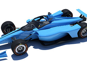 3D model Indycar 2020 - Oval version