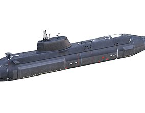 HMS Artful SSNs Submarine 3D