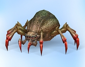 Fantasy Spider 3D asset