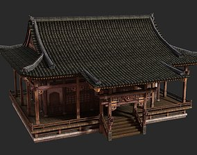 Ancient Chinese houses Buildings 3D model 1