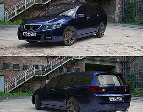 3D Honda Acccord Wagon 2005