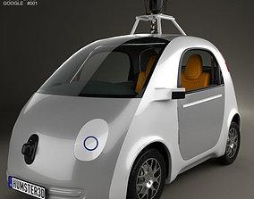 3D model Google Self-Driving Car 2014