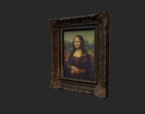 3D model Mona Lisa
