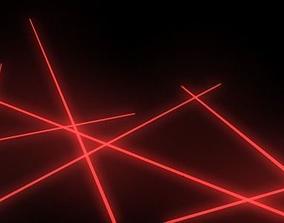 3D model Laser Scene