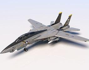 us Grumman F-14 Tomcat 3D model