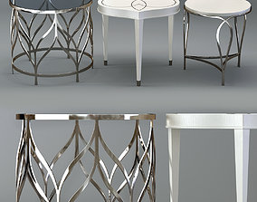 3D Bernhardt Calista Accent Tables