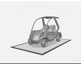 3D print model Golf Cart