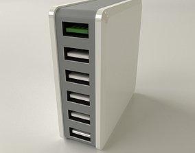 3D USB Desktop Charger
