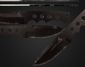 3D asset Knife Colt CT4 Combat Commander