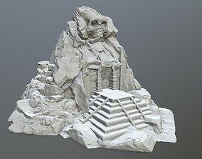 3D printable model skull gate