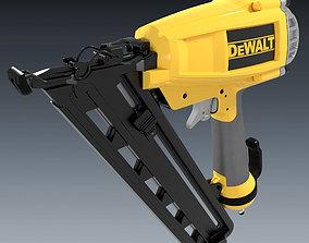 handheld Cordless Power Nailer 3D model