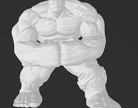 Marvel Incredible Hulk - 3D Print Model