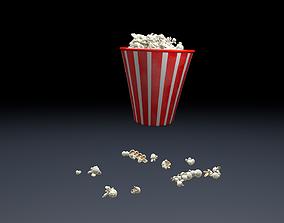 3D model Pop Corn Animated