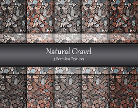 3D model Gravel Seamless Textures Set