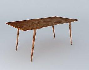 3D model Table Endersen houses the world