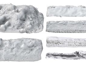 3D Snow pack 01