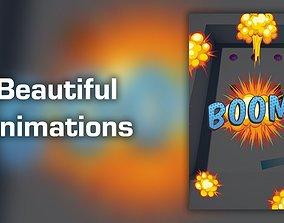Pool Balls - Mobile Game Template 3D model
