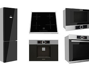 microwave 3D Kitchen Appliance