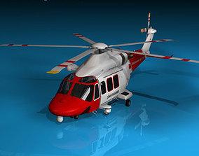 3D AW139 coastguard