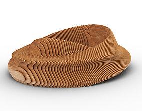 Parametric Donut Bench 3D