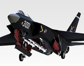 Chinese SAC J-31 3D Model