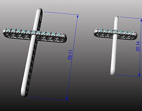 3D model 2 crosses
