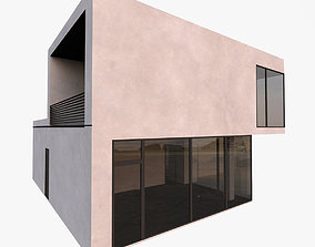 3D model Modern Minimal House With Console