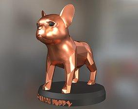 Bulldog Puppy 3D printable model