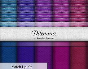 Dilemma Seamless Textures Set 3D