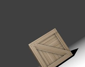 game Box wooden 3D