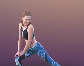 Valeska 10247 - Stretching Sport Girl 3D model