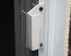 Handle for screen door 3D printable model