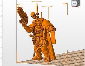 Primaris Captain in Phobos Armor 3D print model