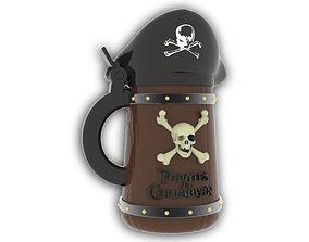 3D printable model Pirates of the Caribbean Beer Stein - 2