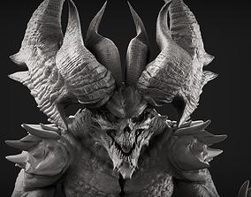 Demon 1 High Poly Sculpt 3D
