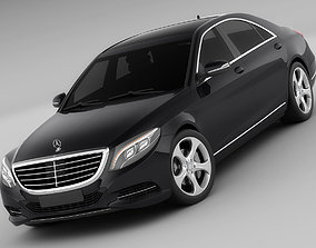 Mercedes S-class MY 2014 3D model