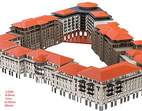 buildings for 3d printing cephe VR / AR ready