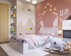rest Kids bedroom 3D model